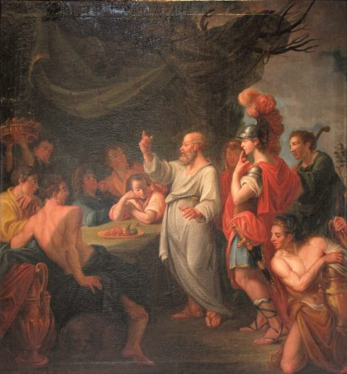 Socrates Teaching