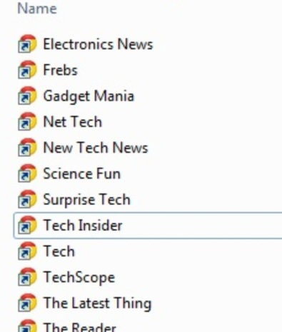Pretend Tech Sources