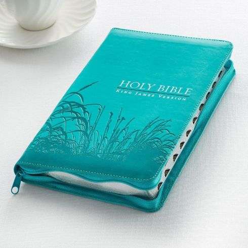 Teal King James Bible