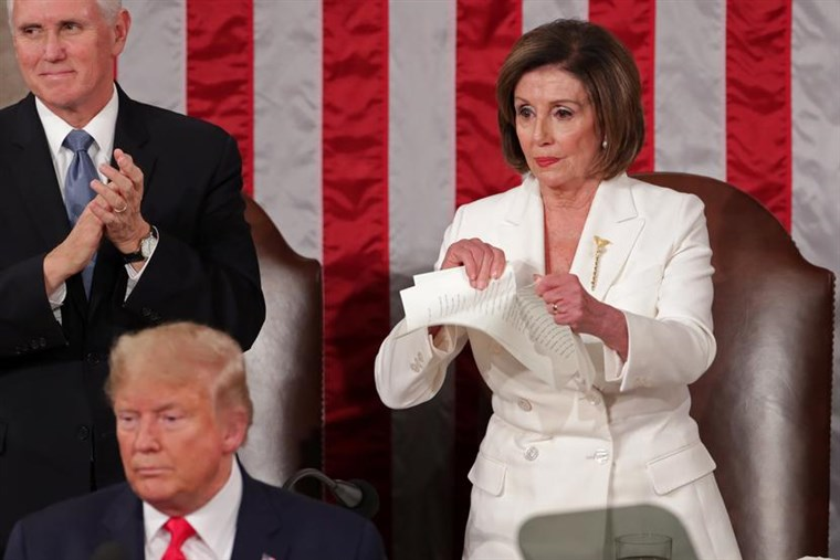 Nancy Tearing Speech